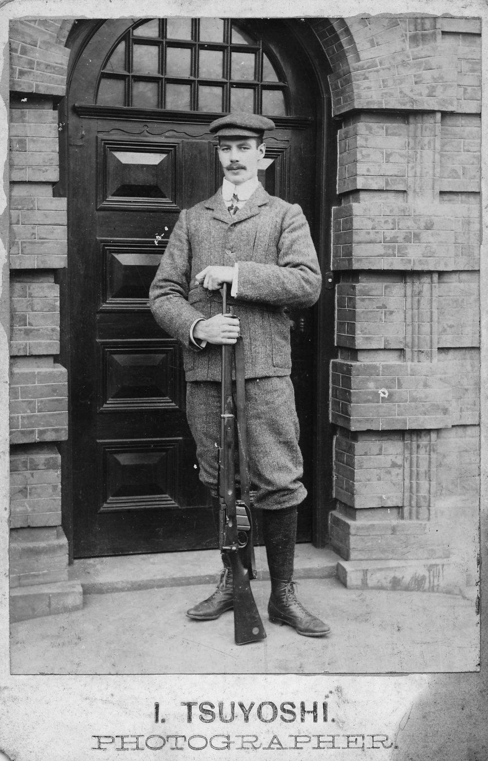 S. C. Young, taken in Shanghai in 1905 soon after his arrival (courtesy of Peta Catto/Young collection)