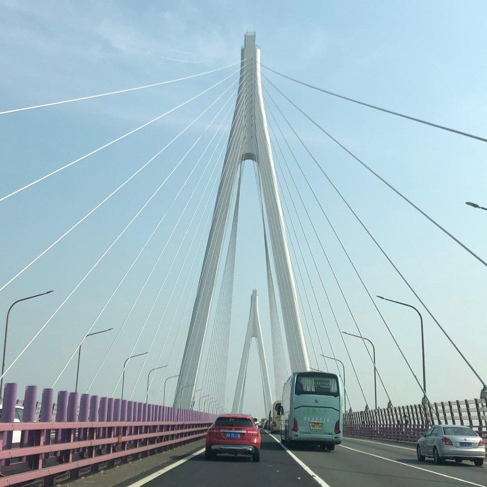 On the Hangzhou Bay Bridge