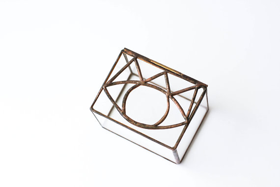 Third Eye Glass Box by hereandnowshop
