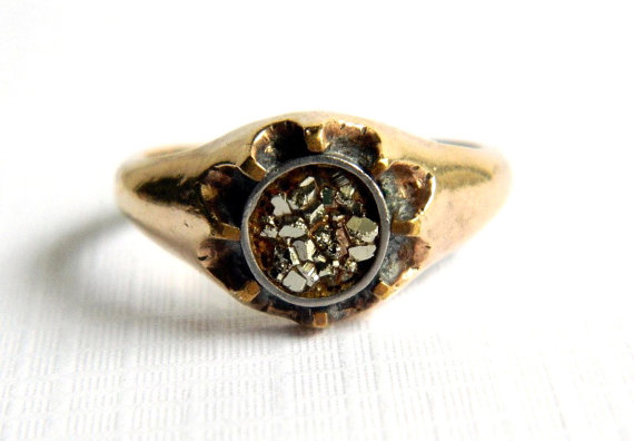 Vintage Men's Edwardian Ring by FlossysTreasures