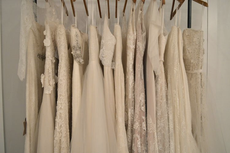 These dresses are part of a current trunk show and will only be in the studio until Sunday!