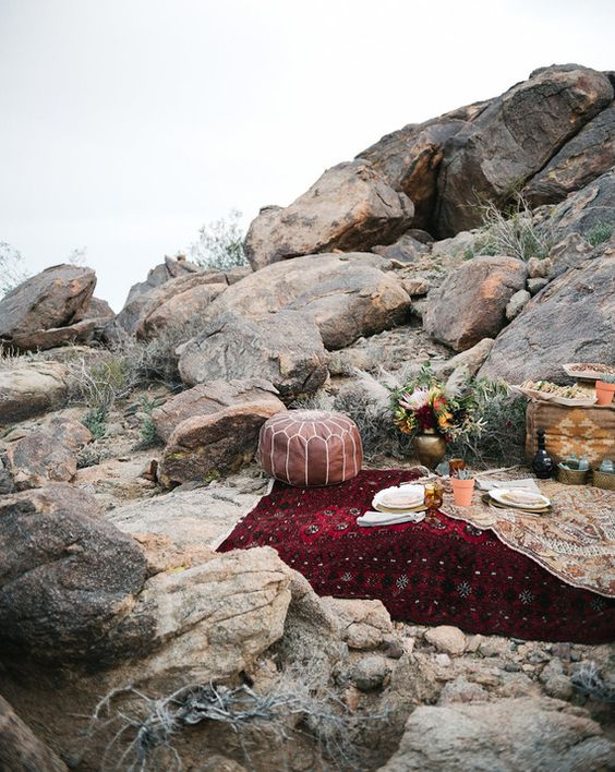 Mountaintop picnic