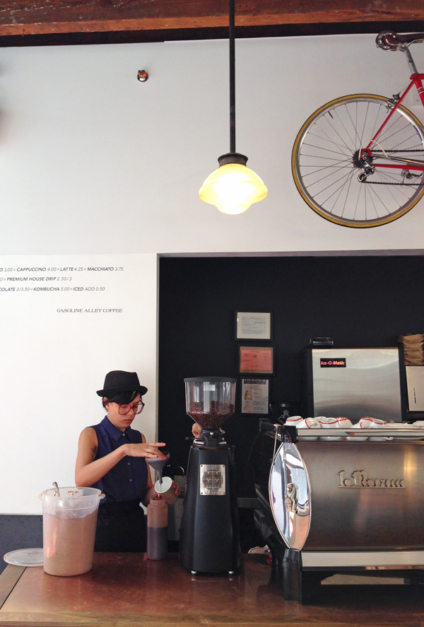 Senn & Sons - Barista at Gasoline Alley NYC