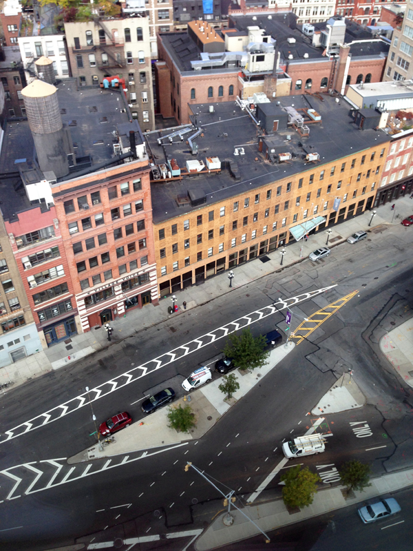 Senn & Sons NYC street from above