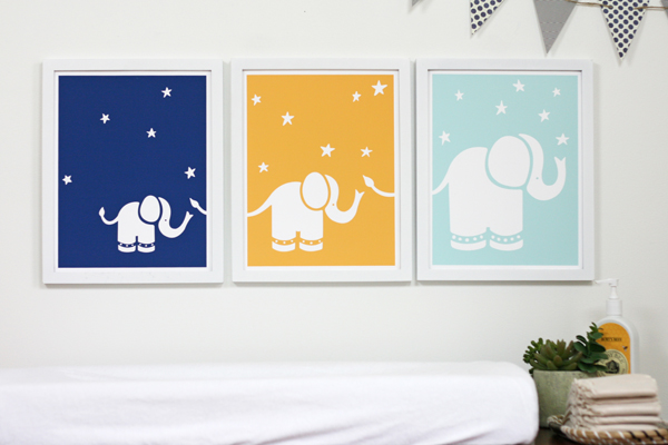 Sprout Exclusive Elephants // Senn & Sons