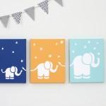Elephants Canvas