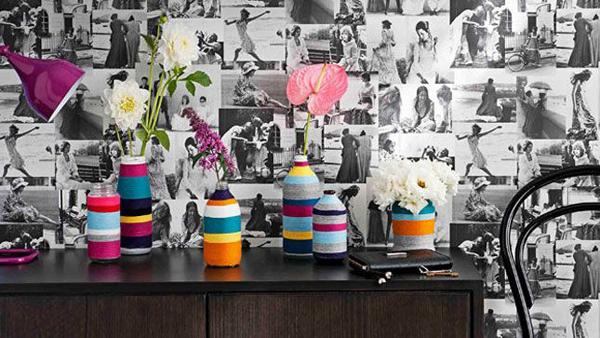 Rope Vase Mason Jar // via Senn & Sons