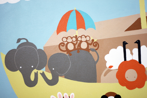 Senn & Sons // Nursery Art // Noah's Ark