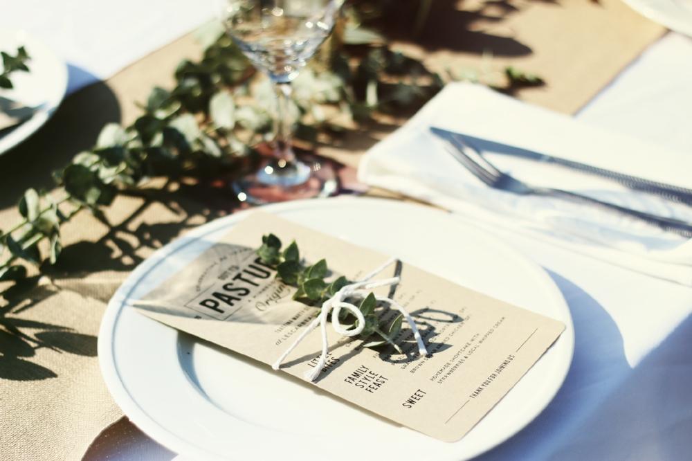 Farm Party Table Decor