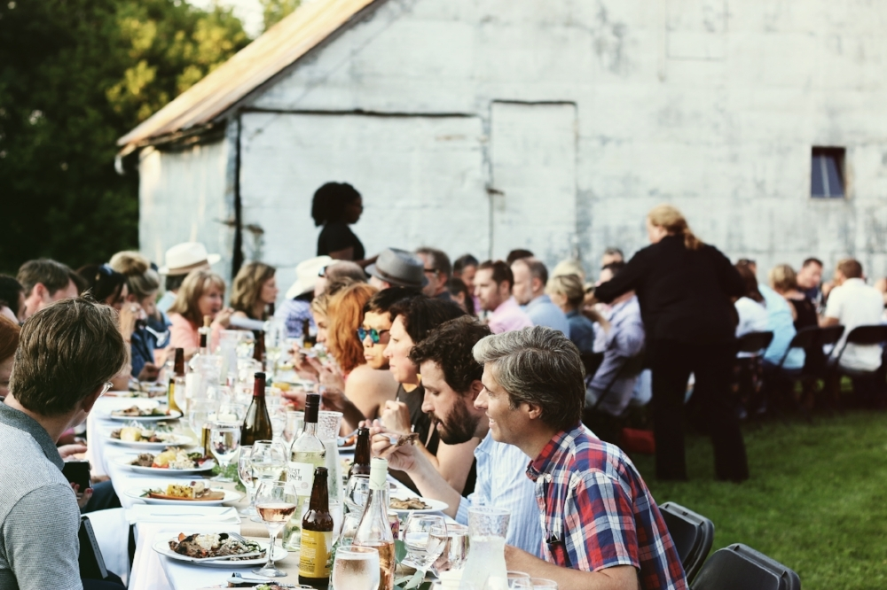 Farm Dinner Party