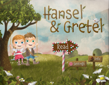 Hansel & Gretel for the iPad pbjpublishing.com Co-founder, product manager I created this app in my spare time over three years. My goal was to reimagine children's books for the iPad. End-to-end, over 100 people contributed to the project, from voice actresses to animators. I published an article about what I learned from making my first app in FastCo (fastcocreate.com/1682559).