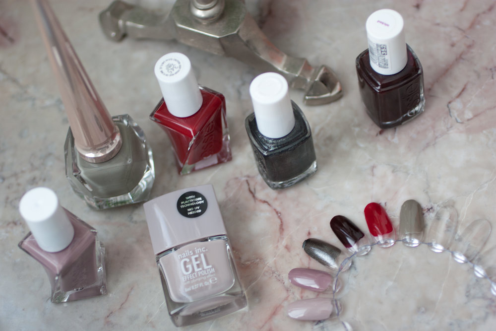 canadian beauty and style blog ttsandra - Autumn Nail Polish Picks