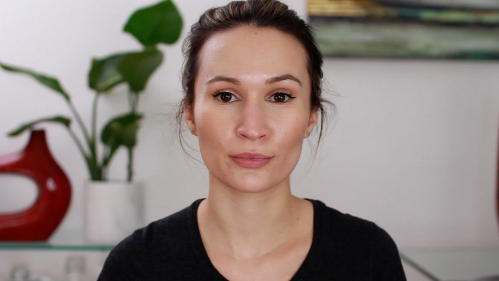 Giorgio Armani Power Fabric Foundation shade 4.5 after a 12 hr wear on combination skin
