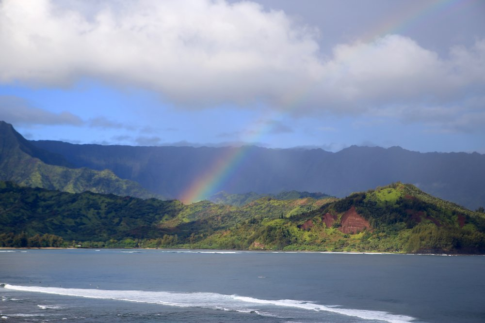 Rainbow Over Hanalei Bay