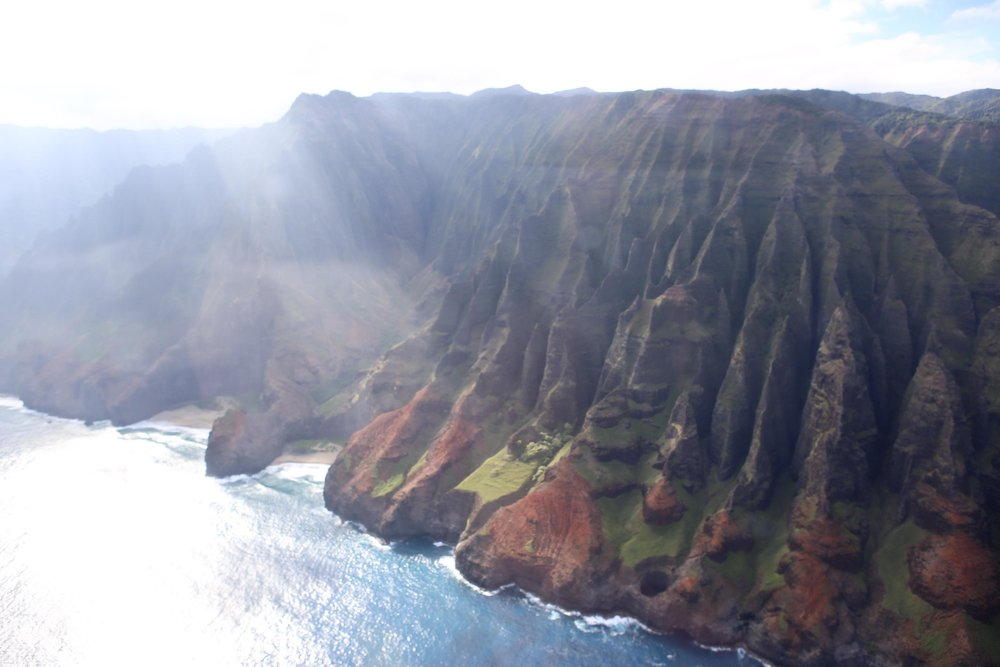 Nā Pali Coast From Above