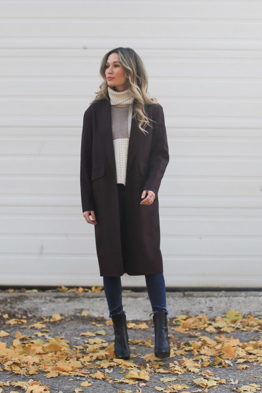 autumn long blazer