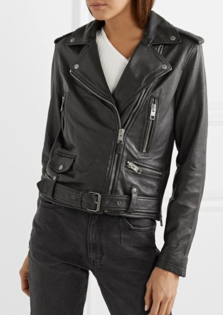 A Perfect Leather Biker Jacket