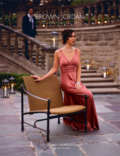 National advertising campaign for a leading U.S. luxury outdoor furniture brand.
