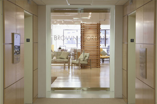 Showroom design and renovation in New York City.