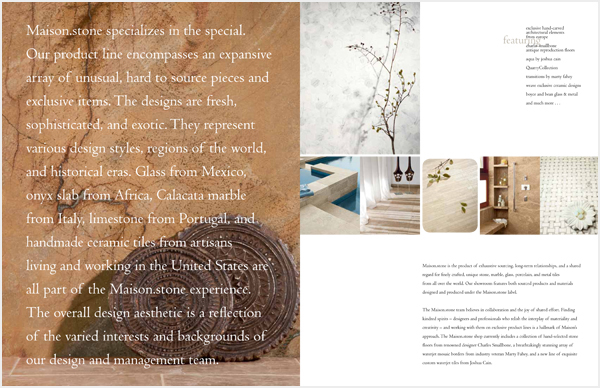Developed a brand position, messaging, and voice for a new showroom in the Beverly-Melrose design district.