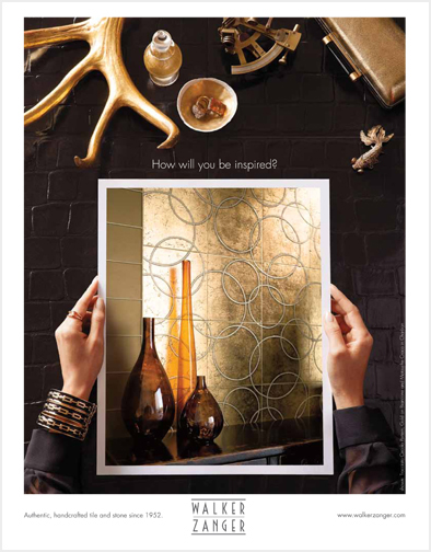 Aspiration and inspiration, as expressed in a national advertising campaign for a luxury brand.