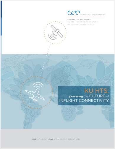 Brochure defining Ku HTS technology to the inflight entertainment and connectivity market.