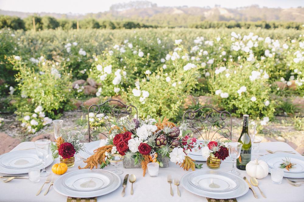 autumn wedding inspiration photo