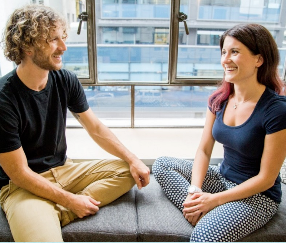 FloatWell founders Kevin + Samantha
