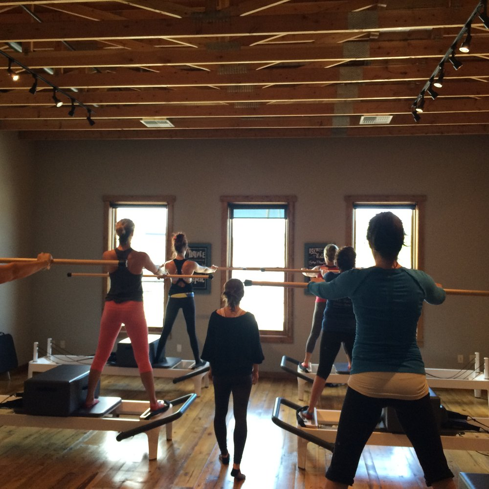 Delia Teaching Pilates