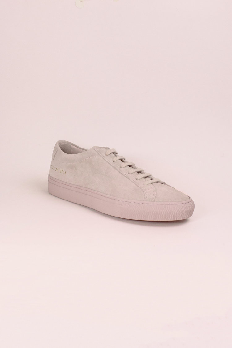 e4738494a26a COMMON PROJECTS Original Achilles Low Suede, Blush (39) — SLOW WAVES