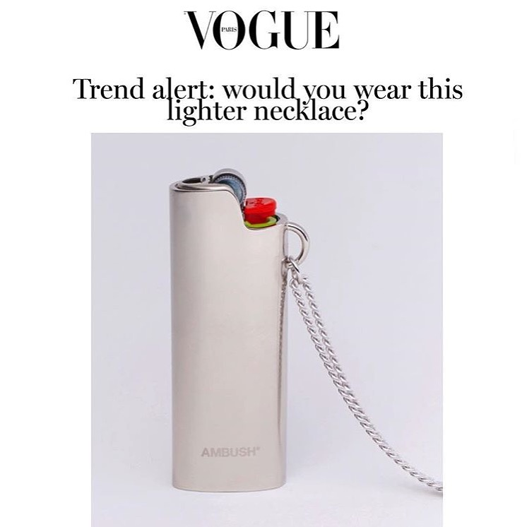Paris Vogue: AMBUSH