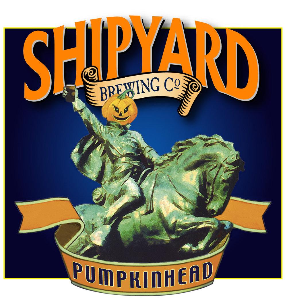 Shipyard Brewing Company's Pumpkinhead Ale