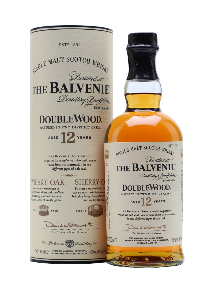 The Balvenie, Double Wood 12-Year Single Malt Scotch Whisky