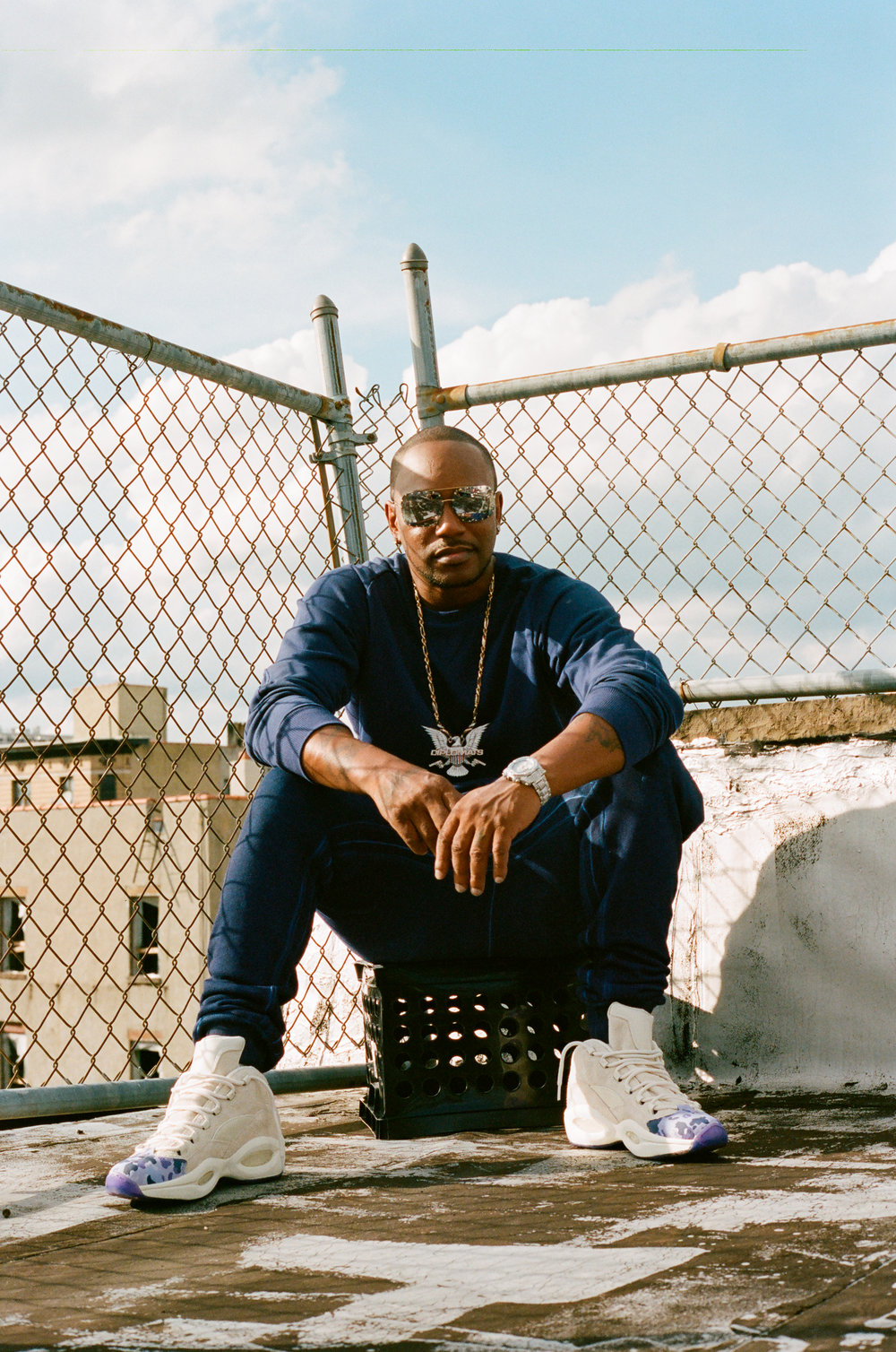 Cam'ron for Reebok Classics.   Producer: ONLUNCHBREAK  Videographer: Sammy Suh