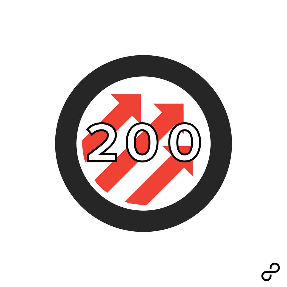 8tracks x Pitchfork 200 brand/identity, visual design