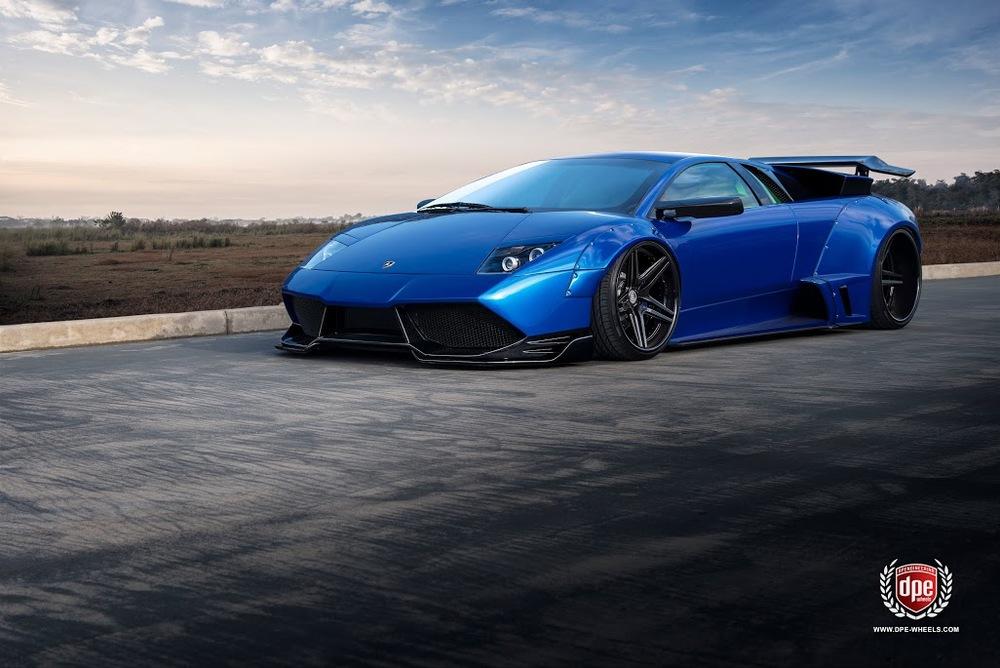 Widebody Lamborghini Murcielago Cs Series Cs5s V2 Dpe Wheels