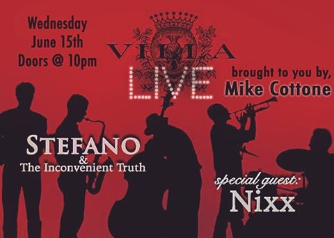 The best place to be on a Wednesday night! #LiveMusic #InconvenientTruth #VillaLive @villalounge_la