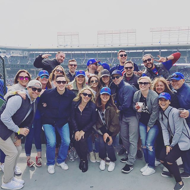 They may have lost (the @cubs), but it's going to be a winning weekend! #FallingForPhillips 💙♥️⚾️💙♥️