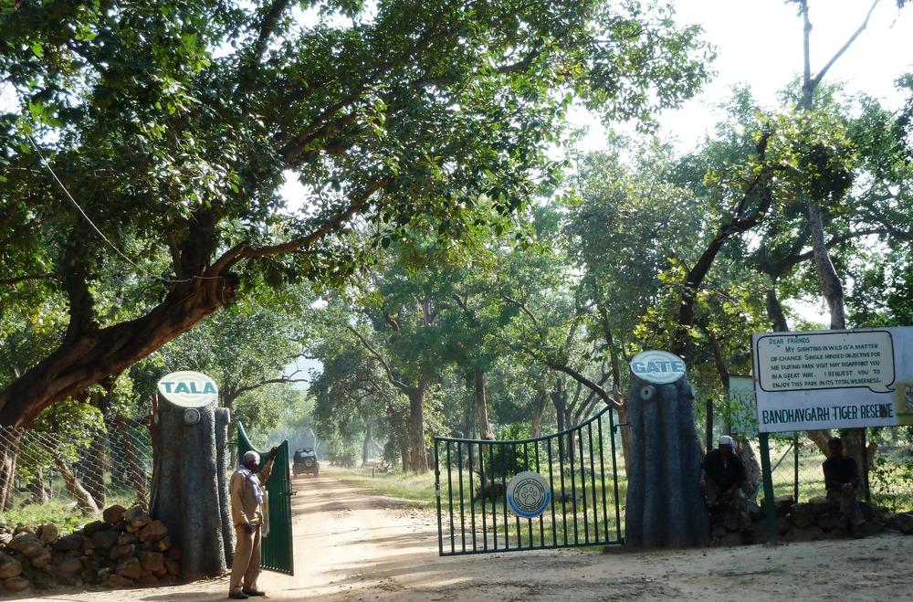 Entrance to Bandhavgarh Tiger Reserve