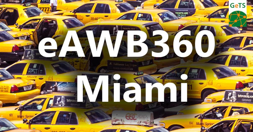 eAWB360 e air waybill Miami