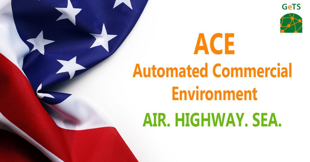 ACE/ACI Shipment - ACE eManifest