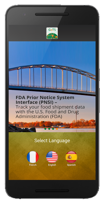 FDA tracking on GeTS Mobile App 2.0