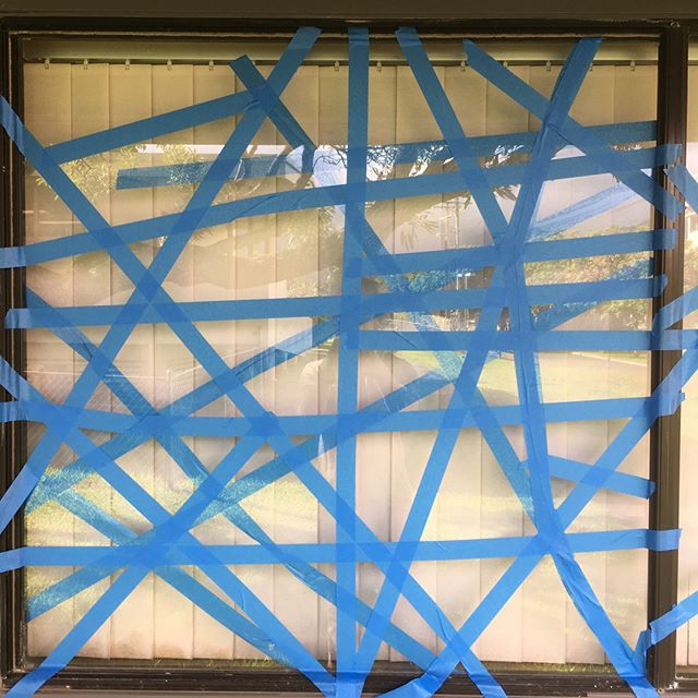 Hurricane prep or contemporary art?
