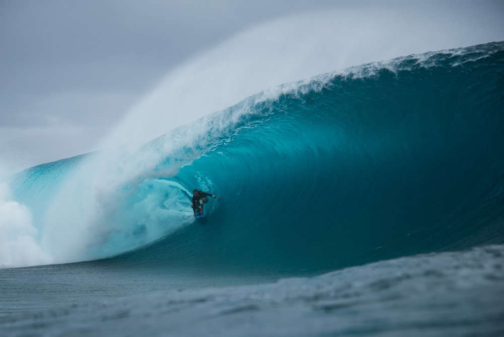 Teahupoo Tow-In Sessions - not for the faint hearted