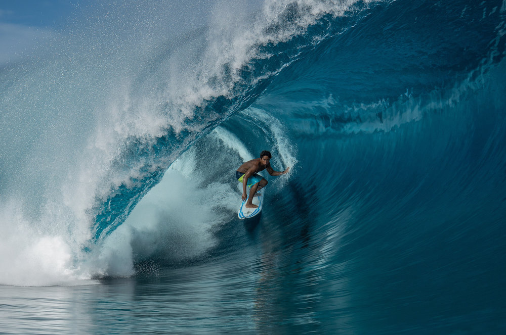 The aquatic wonderland that is Teahupoo, Tahiti