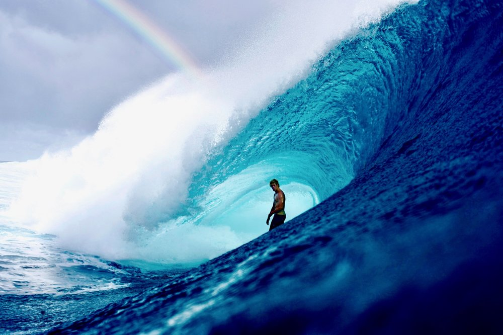 Apparently John John Florence is what you find at the end of the rainbow