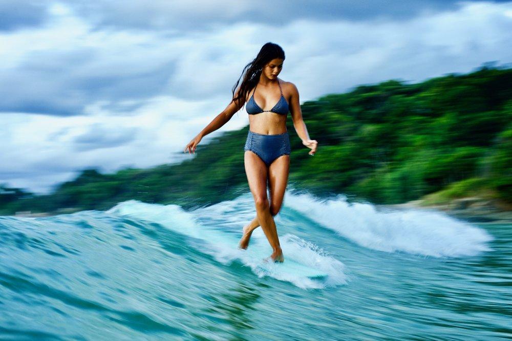 Josie Prendergast walking on water