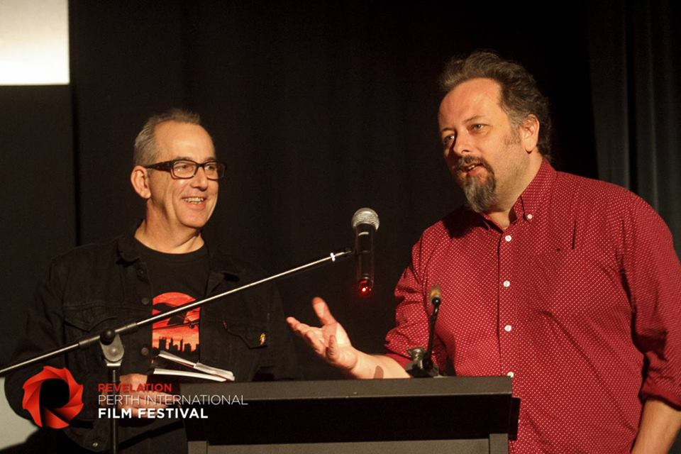Revelation founder / festival director Richard Sowada, and program director Jack Sargeant,