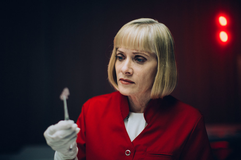 Barbara Crampton in REPLACE