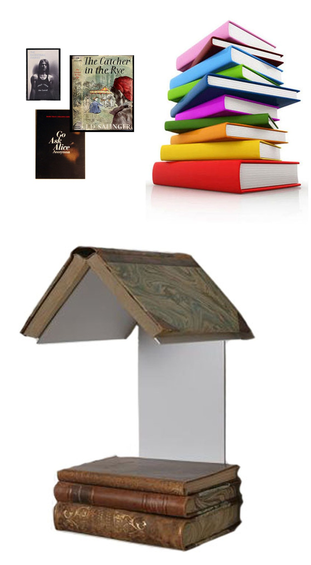 "ND Tip:  Mix up the look of this book stand with color!  Makes an excellent gift too.  Or a beautiful way to display some of your favorite books. READER'S NEST $79 he READERS' NEST gives you a convenient and well crafted design that allows you to read with ease in your favorite spot. The design also gives a smart way to mark you page without having to 'dog ear' every page. Manufacturer: David Design Design: WIS Design   Size: Height 12.6"", width 5.1"", depth 6.9"" Material: Painted metal Color: White"